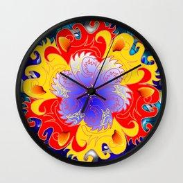 Jokers Kaledioscope Wall Clock