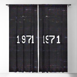 1971 Blackout Curtain