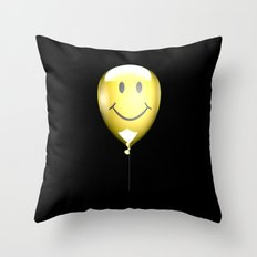Acid Balloon Throw Pillow