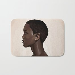 Elf Portrait Bath Mat