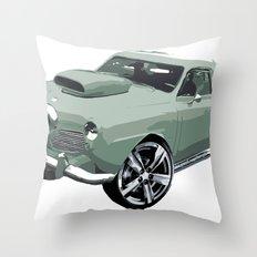 Studebaker in Green Throw Pillow