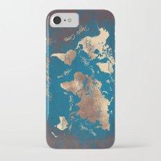 world map 27 Slim Case iPhone 7