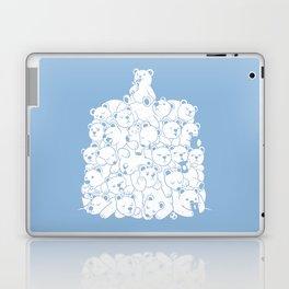 Bear T-Shirt Hibernation Kids Laptop & iPad Skin