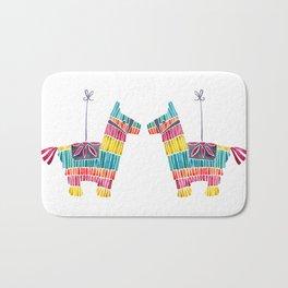 Mexican Donkey Piñata – CMYK Palette Bath Mat
