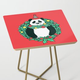 Beary Christmas Side Table