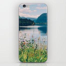 Lake Bohinj in Slovenia, 1 iPhone Skin