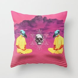 deep vision  Throw Pillow