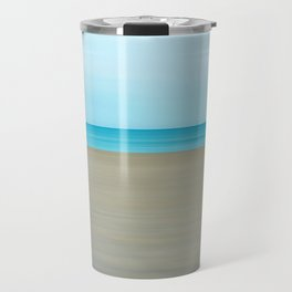 Minimalism Beach Travel Mug