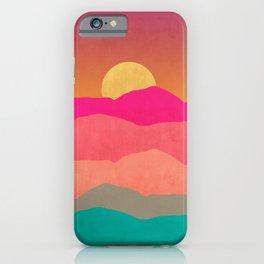 Minimal Landscape 13 iPhone Case