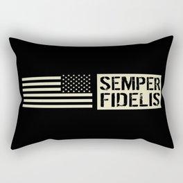 Semper Fidelis Rectangular Pillow