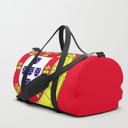 Portugal flag emblem Duffle Bag