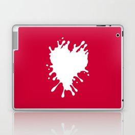 Splatter Heart Laptop & iPad Skin