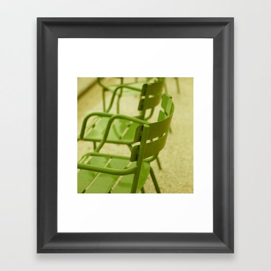 Spring Green Framed Art Print
