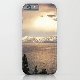 Changing Seasons at Lake Tahoe iPhone Case