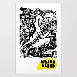 weirdblood Art Print