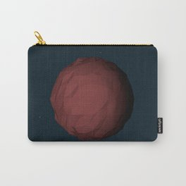 Planet Mars Low Poly Carry-All Pouch