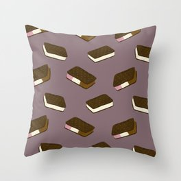 Ice Cream Sandwiches Throw Pillow