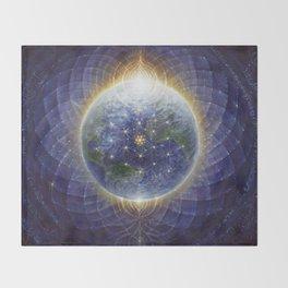 HealingEarth by AutumnSkyeART Throw Blanket