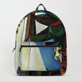 Dora Maar au Chat by Pablo Picasso Backpack