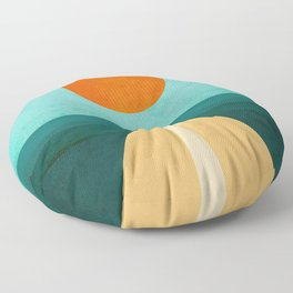 The Road Less Traveled Floor Pillow