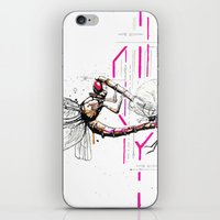 lovers iPhone & iPod Skins featuring Lovers by Subcon