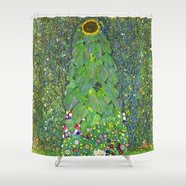 Sunflower - Gustav Klimt Shower Curtain