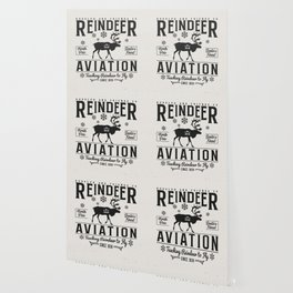 Reindeer Aviation - Christmas Wallpaper