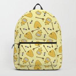 Honeybee and Beehive Pattern Backpack