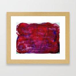 Wisdom and Anger Framed Art Print