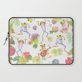 Party frogs Laptop Sleeve