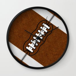 Fantasy Football Super Fan Touchdown Wall Clock