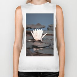 flower of the lake Biker Tank