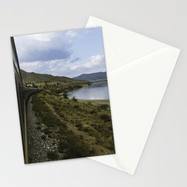 Tran Siberian to Mongolia Stationery Cards