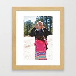 Father Daughter Love Framed Art Print