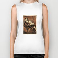 hamlet Biker Tanks featuring Hamlet Prince of Denmark by Immortal Longings