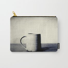 Cup of coffee on a table Carry-All Pouch