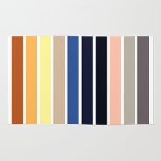 The colors of - Howl's moving castle Rug
