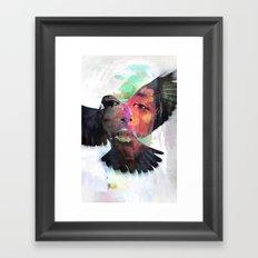 Faith or Flight? Framed Art Print