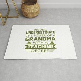 Grandma Teacher Rug