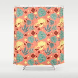 Babes in Paradise Shower Curtain
