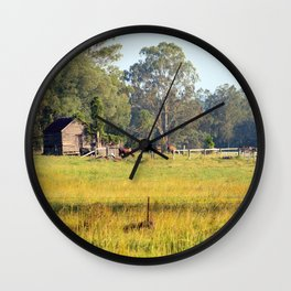 Life on the Land Wall Clock