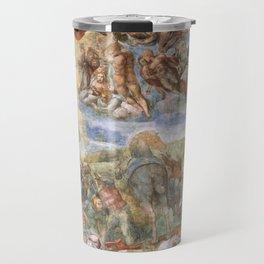 "Michelangelo ""The Conversion of Saul"" Travel Mug"