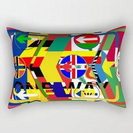 Traffic 01 Rectangular Pillow
