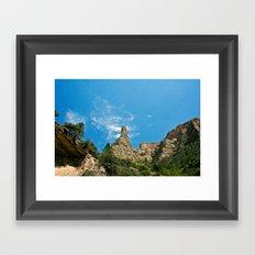 Lone Peak Framed Art Print