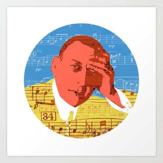 Rachmaninov round 6 Art Print