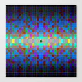 Momo pixel Canvas Print