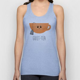 Guilt-tea Unisex Tank Top
