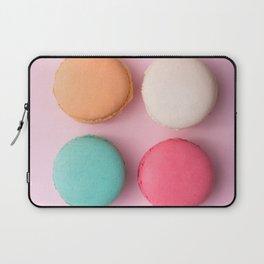 Pink Macaroons Laptop Sleeve