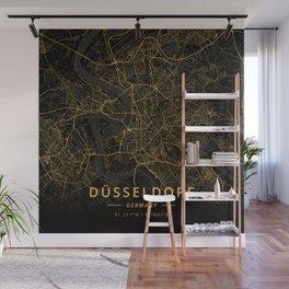 Dusseldorf, Germany - Gold Wall Mural