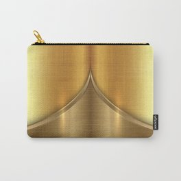 Brushed Gold Carry-All Pouch